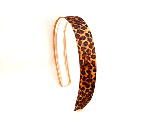 Cheetah print Headband, infinity headbands, girls headbands