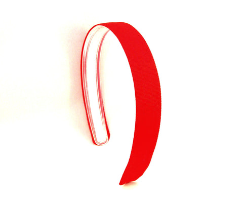 Red Headband, Infinity Headband, red headbands for girls