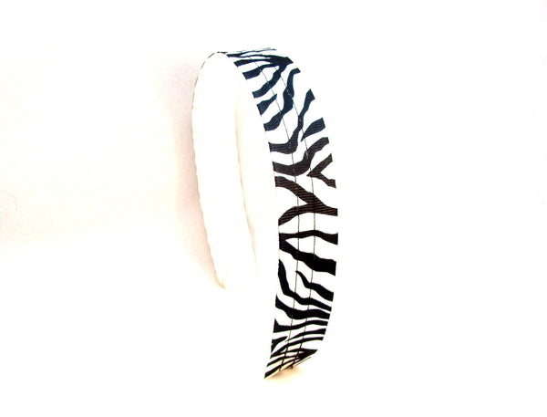 Zebra Headband, Infinity Headbands, animal print headband, headbands for girls