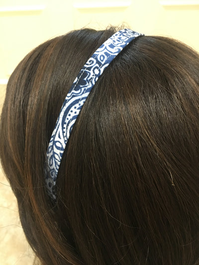 Floral Blue - Infinity Headbands by Ambrosia Designs