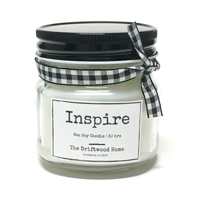 Inspire Soy Blend Candle - Clean burning candle