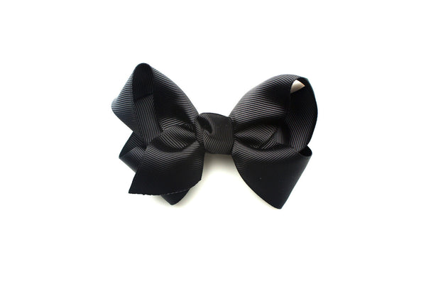 Large Black Bow, hair bows