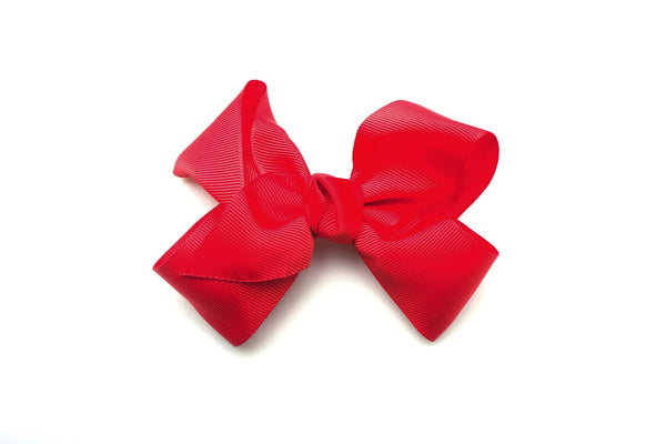 Large Red Bow,girls bows, red bow for hair