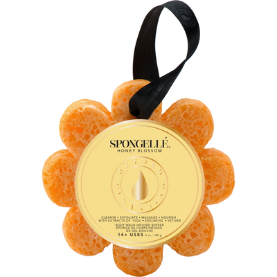 Spongelle Infused Body Buffer - Honey Blossom scent