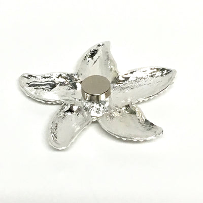 Starfish Candle Magnet - magnet - silver starfish