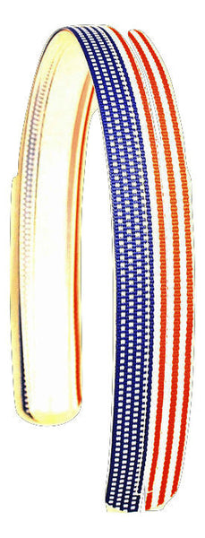 patriotic headband, US flag headband, interchangeable headband, 4th of july headband