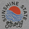 Sunshine State Strong Flowy Tank in Gray