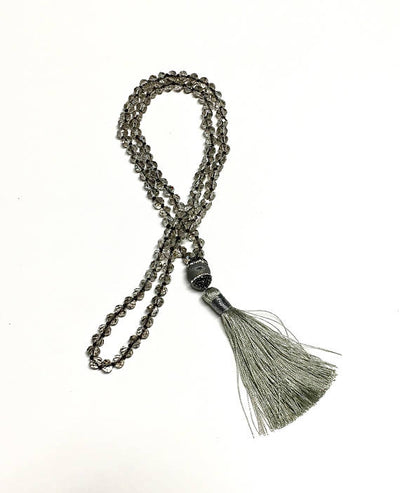 Beaded Tassel Necklace - Infinity Headbands by Ambrosia Designs