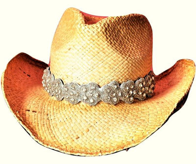 Crystal Hat Band for Western Hats