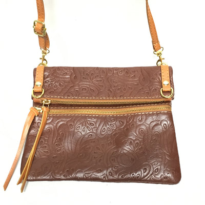 handbag, italian leather purses, brown leather, tooled leather