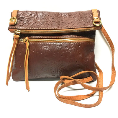 Brown handbag, Italian leather purse, brown leather purse, crossbody purse