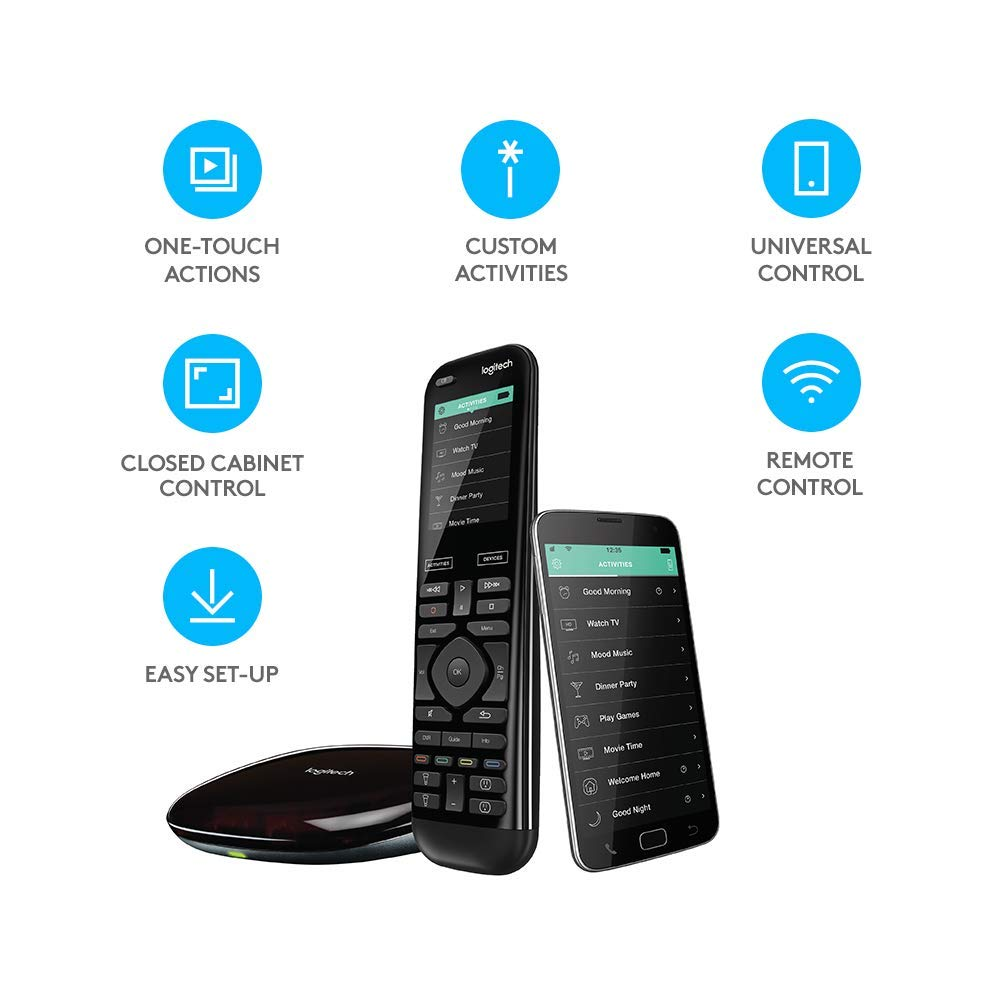 Logitech Harmony Elite Advanced TV and Home Entertainment Remote