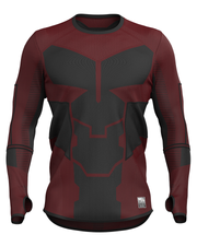 DAREDEVIL Inspired Seamless Long Sleeve Shirt