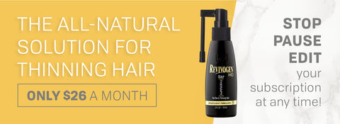 All natural hair loss subscription $26