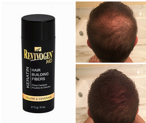 Revivogen MD:  Keratin Hair Building Fibers