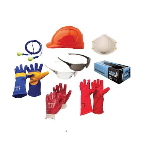 Safety gear at Allfast Solutions NZ