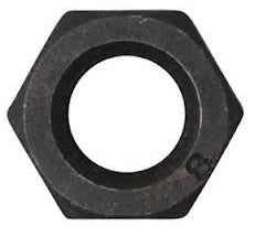 Hex Nut Black UNC Grade 5