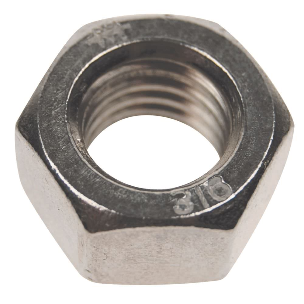 Hex Nut Imperial Stainless 316