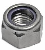 Nyloc Nut Metric Stainless 316