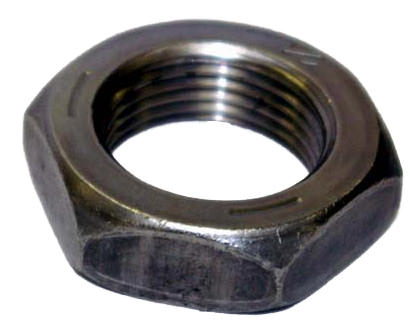 Half Lock Nut Black Metric Fine
