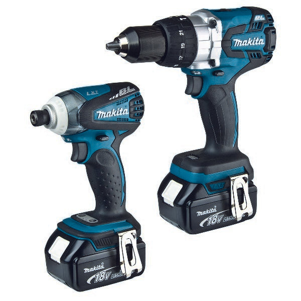 Makita 2 piece 18V Cordless Combo Kit