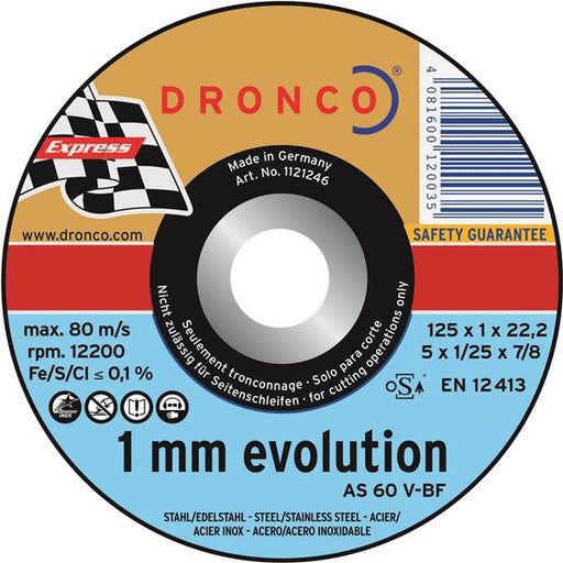 Dronco Evolution Metal Cutting Disc