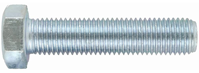 M8 Hex Set Screw Zinc Grade 4.8
