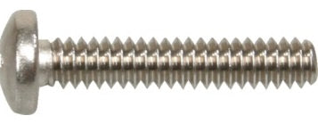 M6 Machine Screw Pan Slot Stainless 304