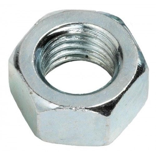 Hex Nut Zinc Plated Metric Class 8