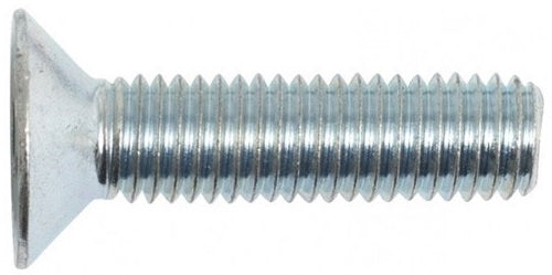 Machine Screw Countersunk Slot Zinc Plate