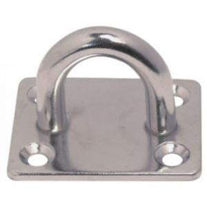 Eye Pad Rectangular Stainless 316