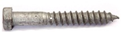 M16 Coach Screws Galvanised Grade 4.8