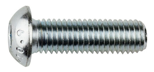 M6 Socket Button Screw Zinc