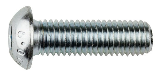 M12 Socket Button Screw Zinc