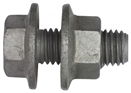 Purlin Bolt & Nut Grade 4.8