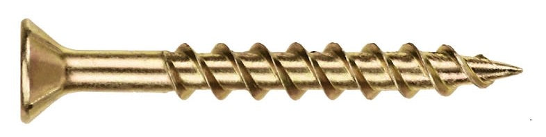 Surefast Screw Countersunk Pozi Zinc Yellow