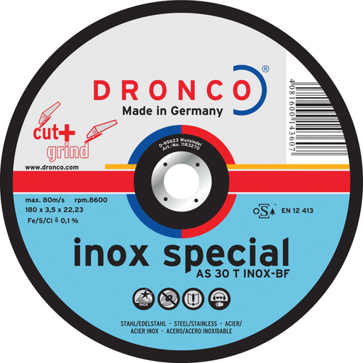 Dronco Inox Special Metal Cutting Disc