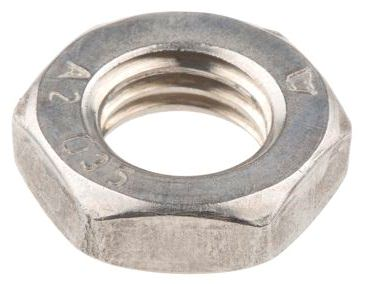 Half Lock Nut Imperial Stainless 304