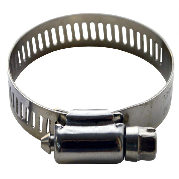 Hose Clip Non-Perforated Stainless