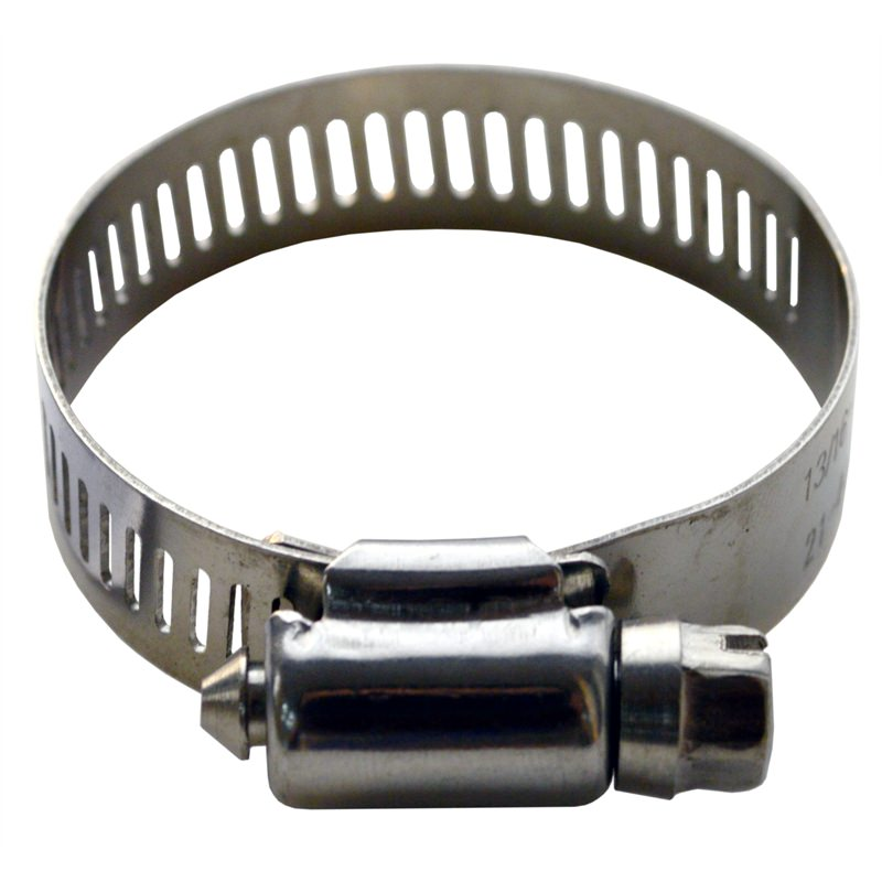 Hose Clip Perforated Stainless 304