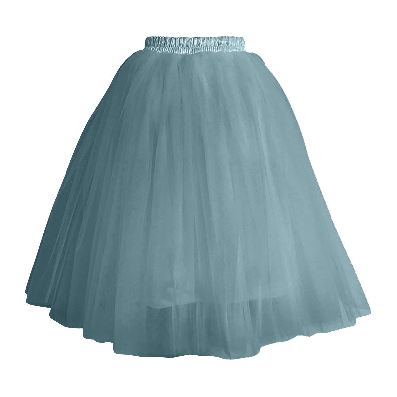 Ladies Tea Length Tulle Skirt
