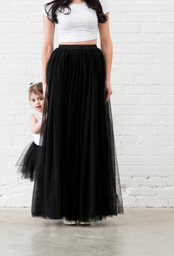 Mommy and Me Tutu Tulle Skirt OLIVIA ROSE Toronto Canada, mother daughter
