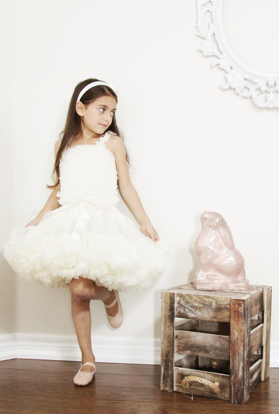 OLIVIA ROSE IVORY PRINCESS DREAM PETTIDRESS - PRE-ORDER