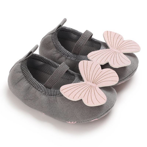 Grey Butterfly shoes