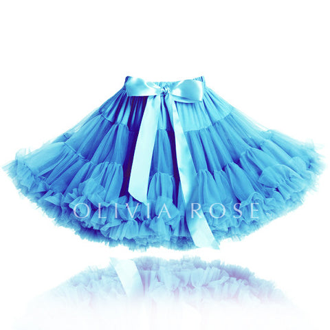 OLIVIA ROSE LIGHT BLUE PETTISKIRT