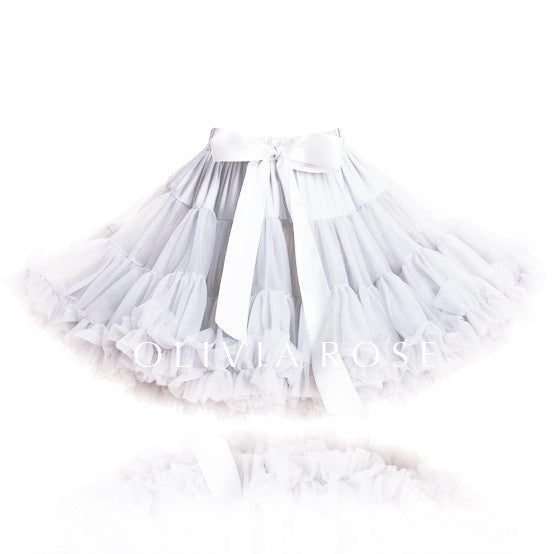 OLIVIA ROSE, WHITE PETTISKIRT