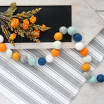 Back to School Felt Ball Garland