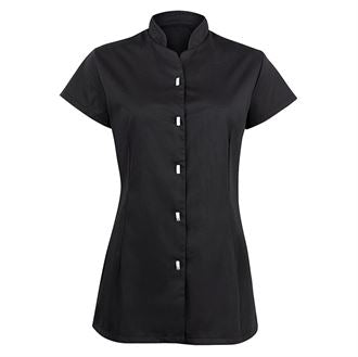 Women's button-front tunic