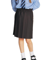 All Box Pleated School Skirt