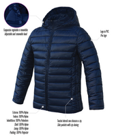Premier Mini Soccer School Royal & Navy Winter Coat